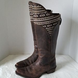 Ariat Caldera Knee High Pendleton Boots